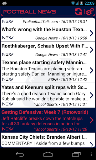 Houston Football News