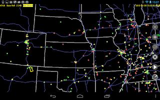 Screenshot of Radar Alive! Pro Weather Radar