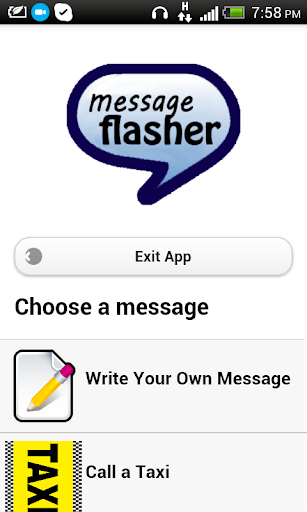 Message Flasher