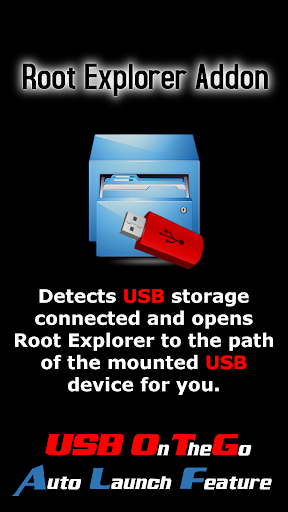 Root Explorer USB Addon