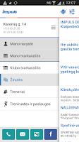 Screenshot of Impuls.lt