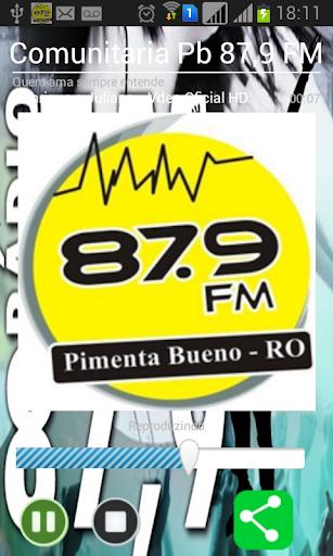 Comunitária PB - 87 9 FM