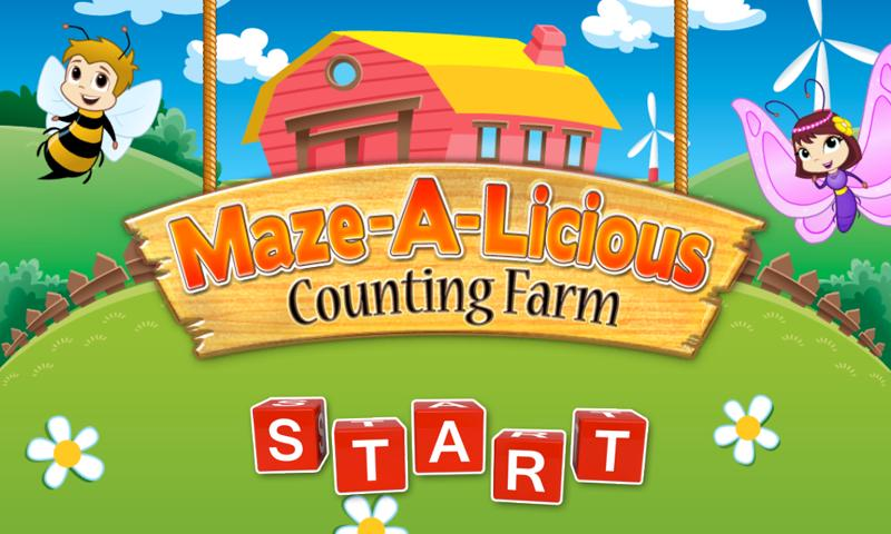 Mazealicious Counting Farm - screenshot