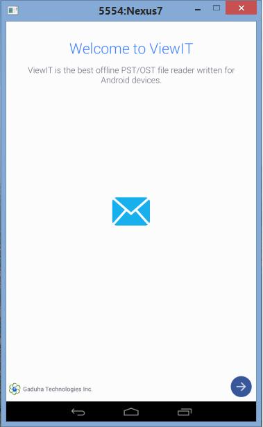 ViewIT - Outlook PST Viewer - screenshot