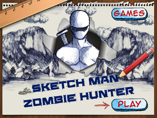 Sketch Man Zombie Hunter