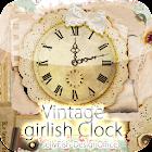 森ガールアナログ時計ウィジェット icon