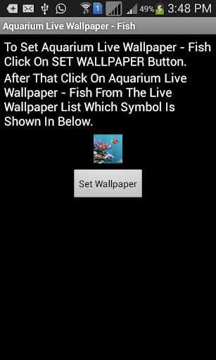 Aquarium Live Wallpaper - Fish