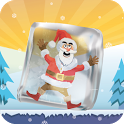 Frozen Santa icon