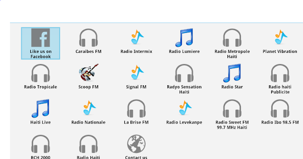 Haiti Radios - screenshot thumbnail