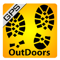 OutDoors GB - GPS with OS Maps icon