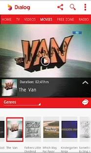 Dialog Live Mobile Tv Online - screenshot thumbnail