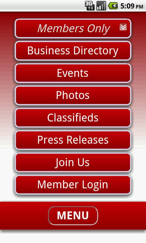 Eastland Chamber of Commerce- screenshot