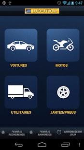Luxauto– Vignette de la capture d'écran