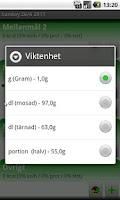 Screenshot of Kostanalys BETA
