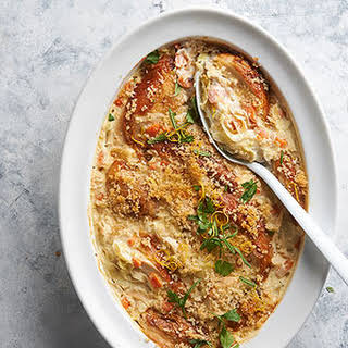 Chicken and Brown Rice Casserole.