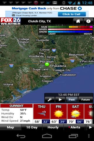 Houston Weather - FOX 26 Radar - screenshot