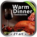 Warm Dinner GO Locker Theme icon