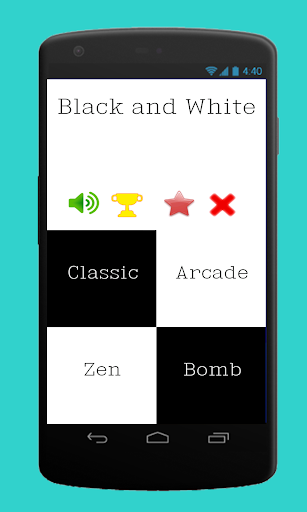 New Black and White Game