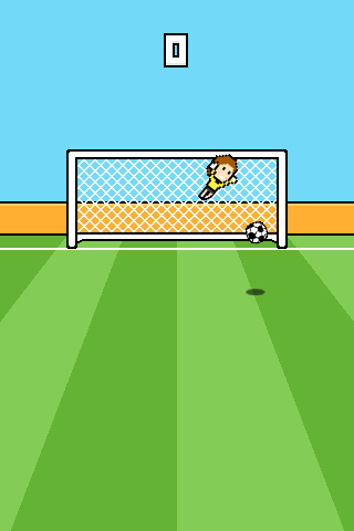 Goalcraft - Goalkeeper Game
