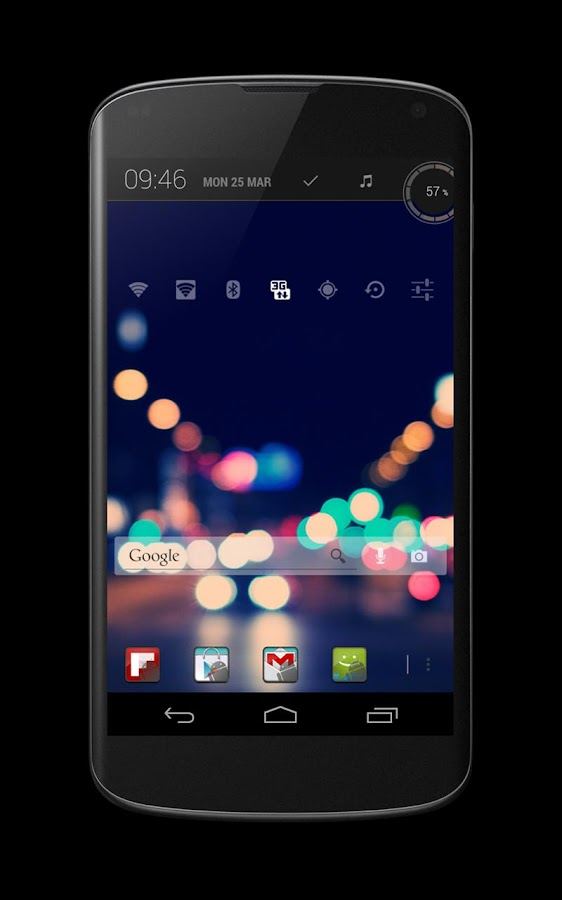 Droided dark - screenshot