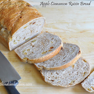 Apple Cinnamon Raisin Bread.