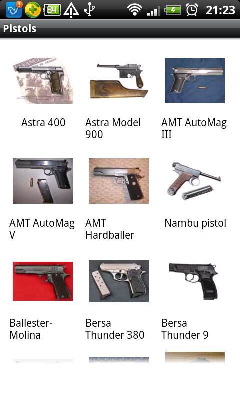Gun Illustrated Handbook - screenshot
