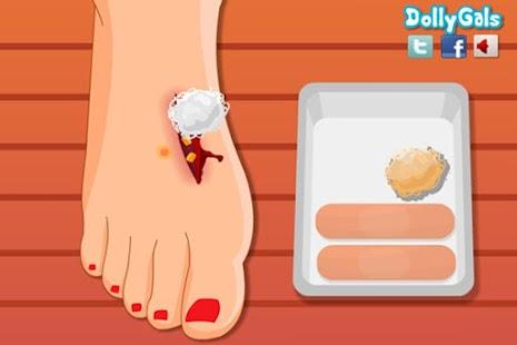 After Injury Pedicure - screenshot thumbnail