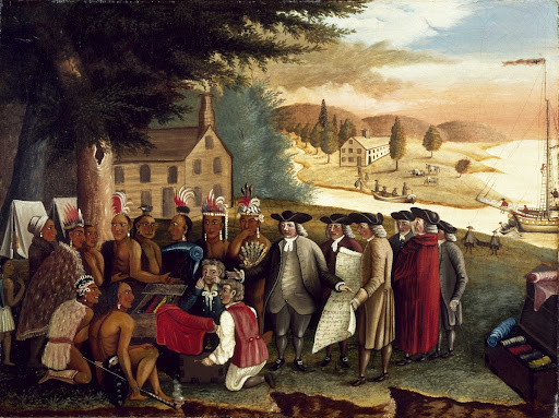 Penn's Treaty with the Indians