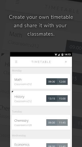 Orary - School Timetable
