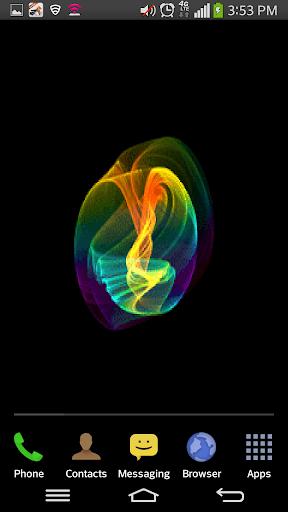 3D Glowing Sphere LWP