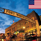 Fort Worth Texas Hotel Map