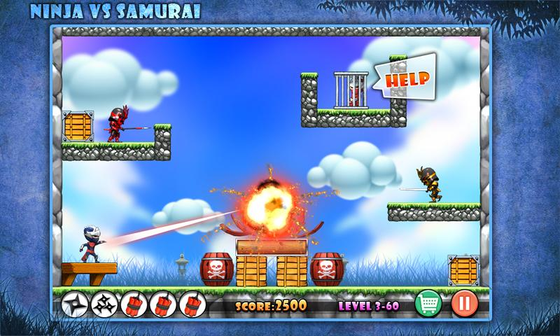 Angry Ninja- screenshot