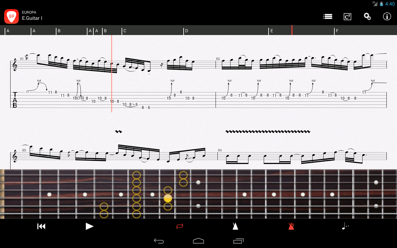 Guitar pro android apps on google play guitar pro screenshot hexwebz Image collections