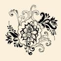 Retro Floral Live Wallpaper icon