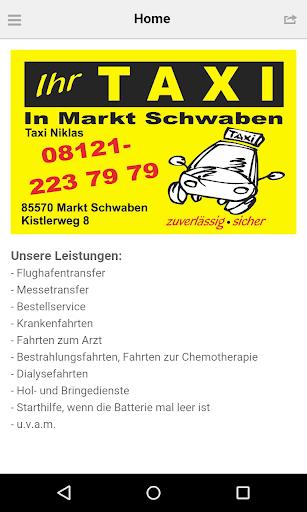 Taxi Markt Schwaben