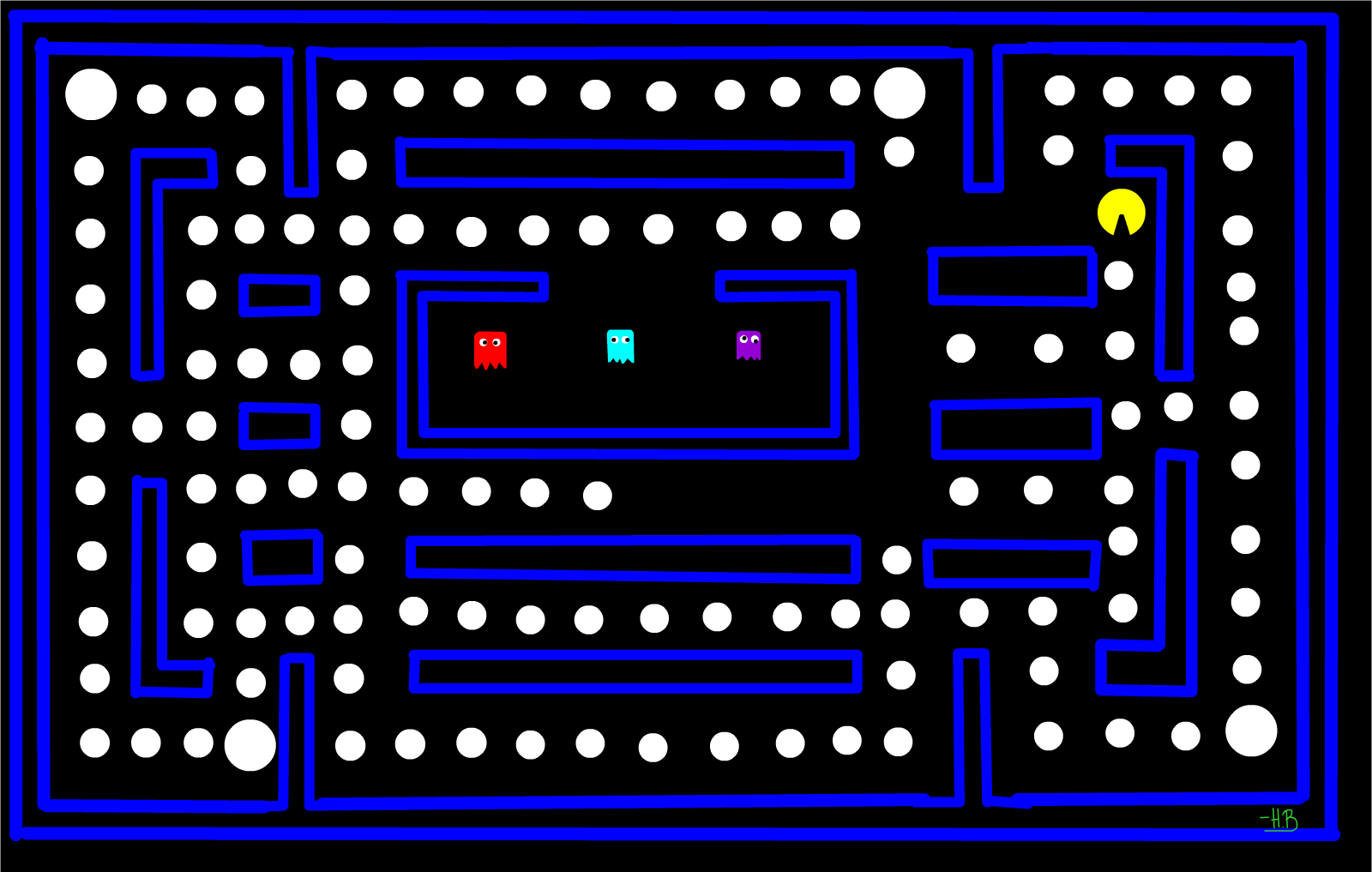 The Topeka Pennant PAC MAN Challenge