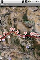 Screenshot of Route 66