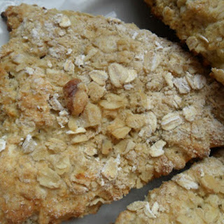 Banana Walnut Sourdough Scones