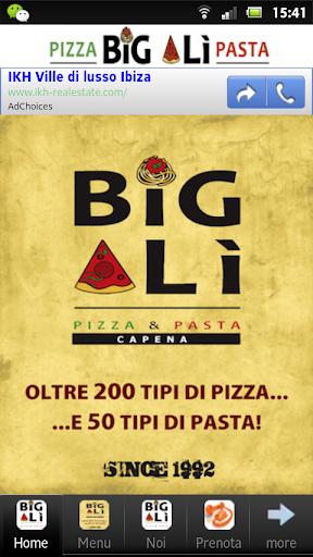 Big Alì – Pizza Pasta