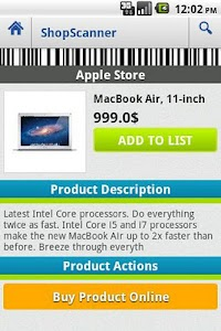 ShopScanner screenshot 6