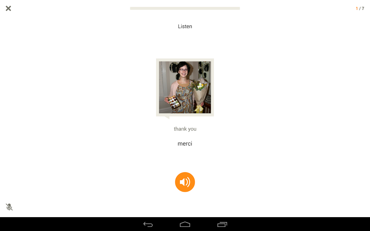 Learn French with Babbel - screenshot