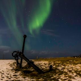 Anchors away lads......... by Kristvin Guðmundsson - Landscapes Starscapes