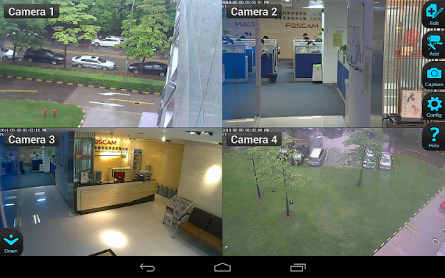 IP Cam Viewer for Maginon cams - screenshot