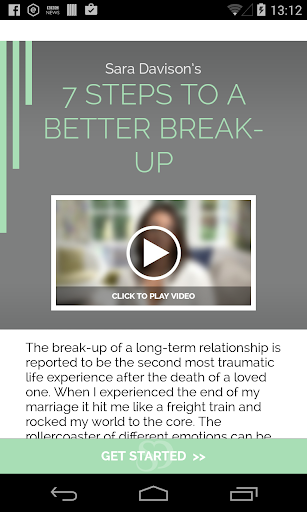 7 Steps To A Better Breakup
