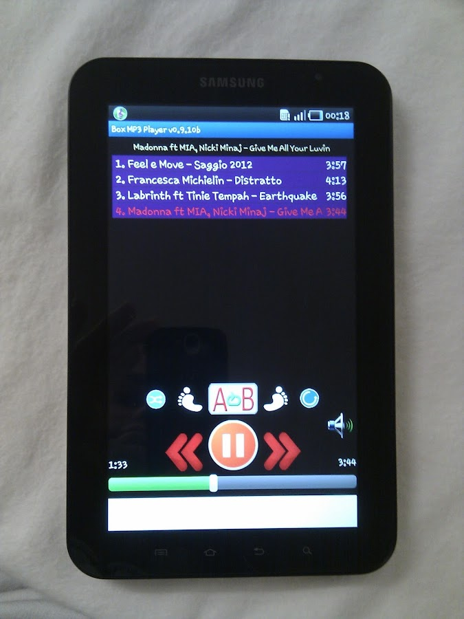 Box MP3 Folder Music Player - screenshot