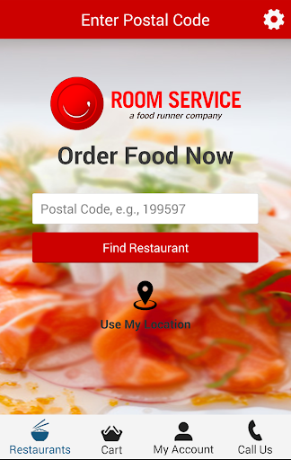 Room Service - Food Delivery