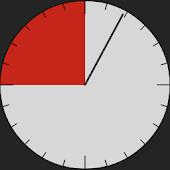 Boxing Round Clock