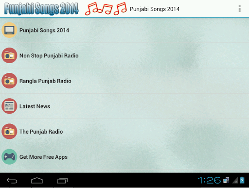 Punjabi Songs 2014 and Radio