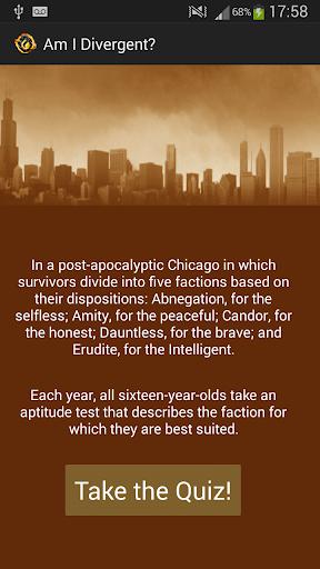 Am I Divergent
