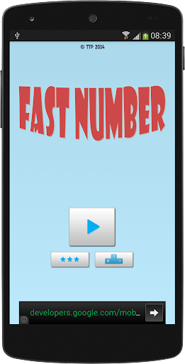 Fast Number - How fast you are